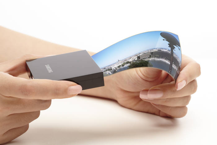 Samsung Galaxy S7 foldable display