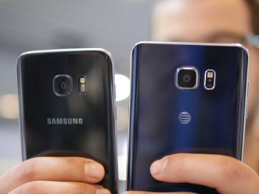 Galaxy Note 6 vs galaxy s7 edge