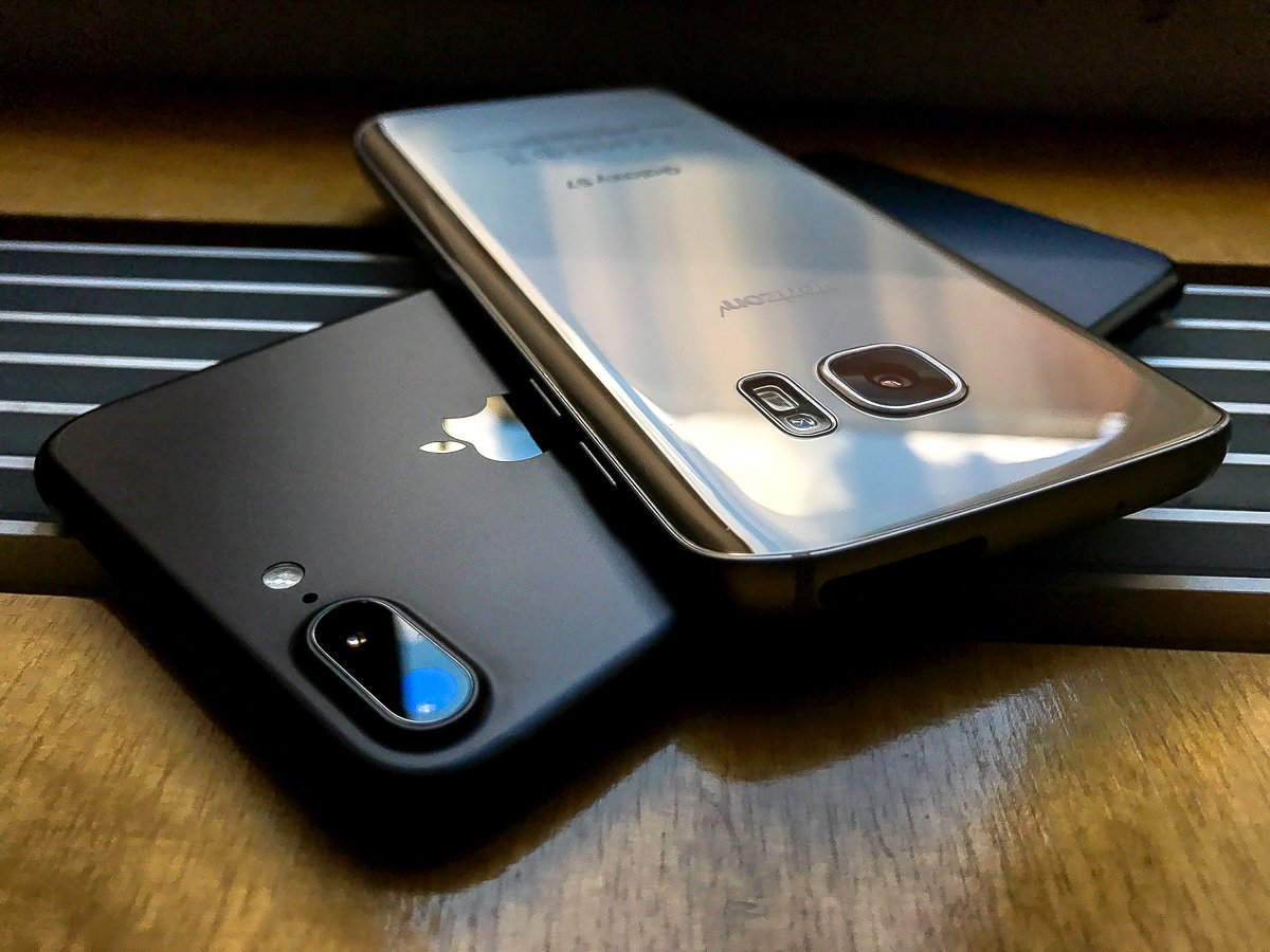 apple iPhone 8 vs. Galaxy S8