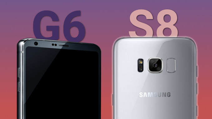 Galaxy S8 vs. LG G6, Galaxy S8, LG G6, comparison