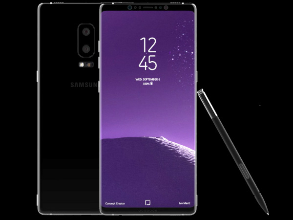 Galaxy Note 8, Note 8 Concepts, Samsung note 8 designs