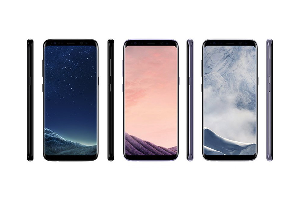 Samsung galaxy s8 variants
